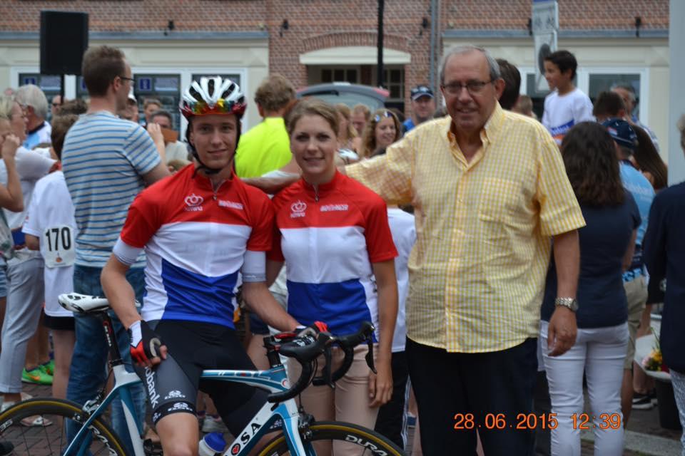 Stijn Daemen en Yara Kastelijn gehuldigd