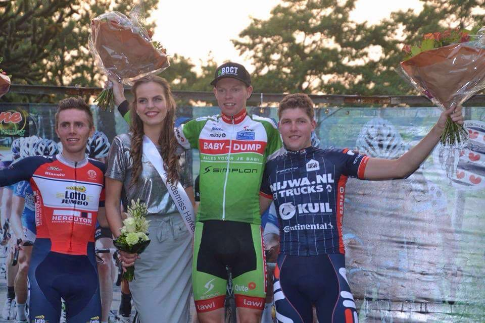 Martijn Dijkstra 2e in Harkema