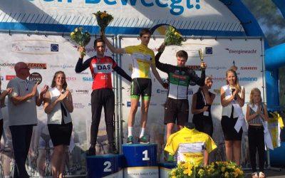 Hidde van Veenendaal 2e eindklassement Jeugdtour Assen