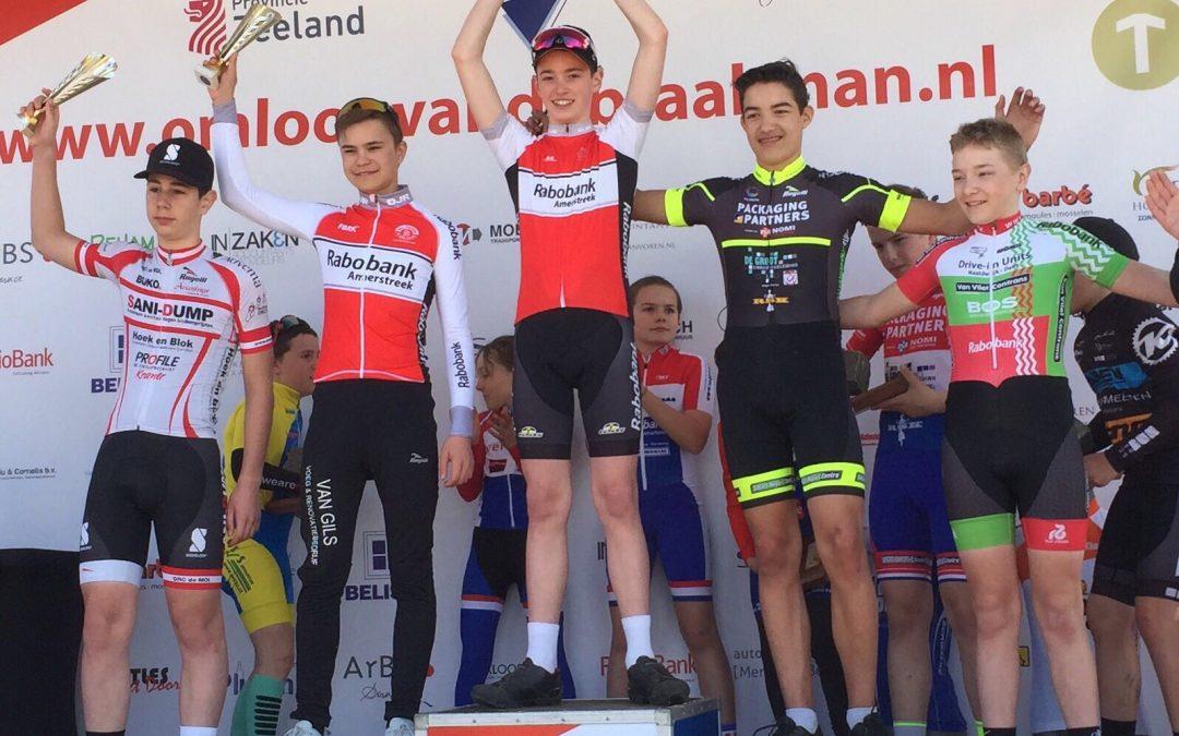 Winst in jeugdklassieker Omloop van de Braakman!