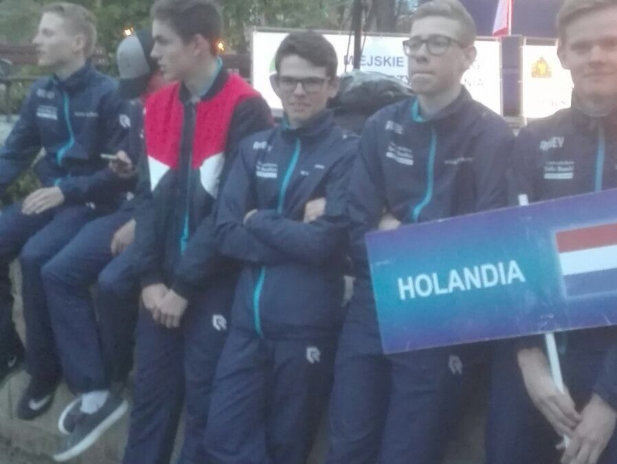 Verslag van de junioren in Polen