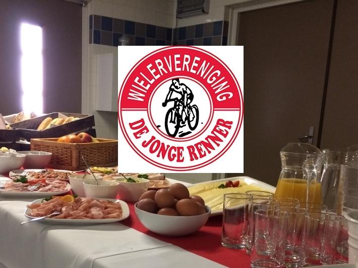 Geslaagd sponsorontbijt wv De Jonge Renner