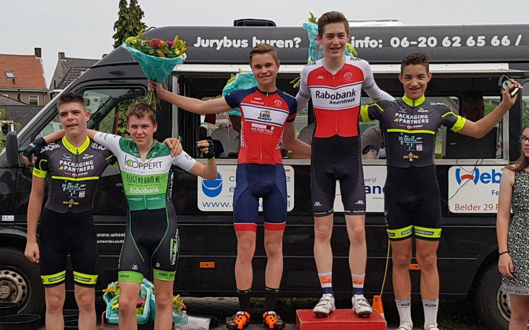Sven Mulder wint in Hoogerheide
