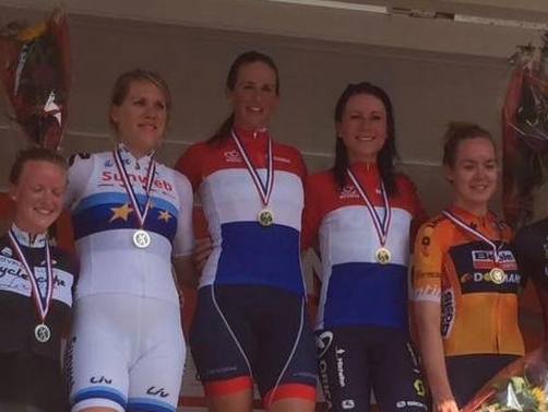 Minke Slingerland-van Dongen Nederlands kampioen!