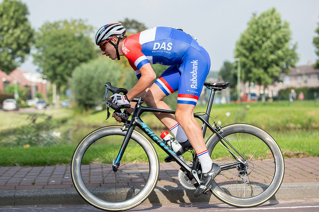 Winst voor Hidde van Veenendaal in Ronde van Hank