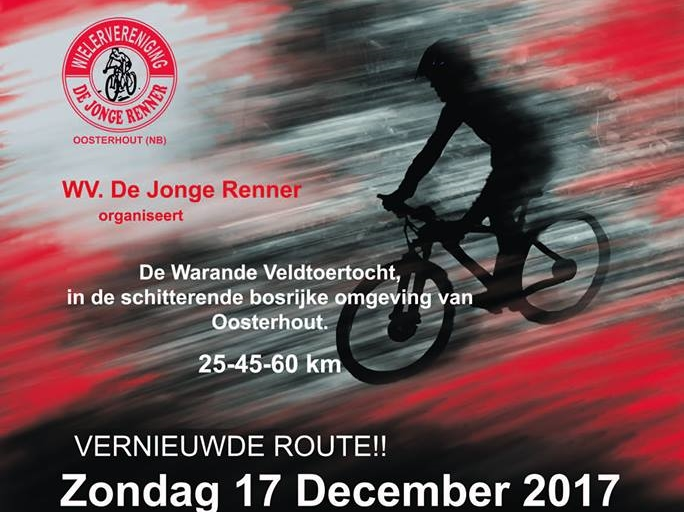 Zondag 17 december: De Warande veldtoertocht!