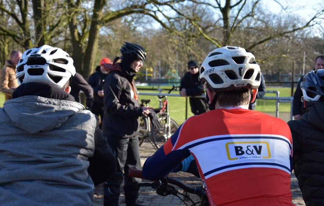 MTB-trainers De Jonge Renner in opleiding