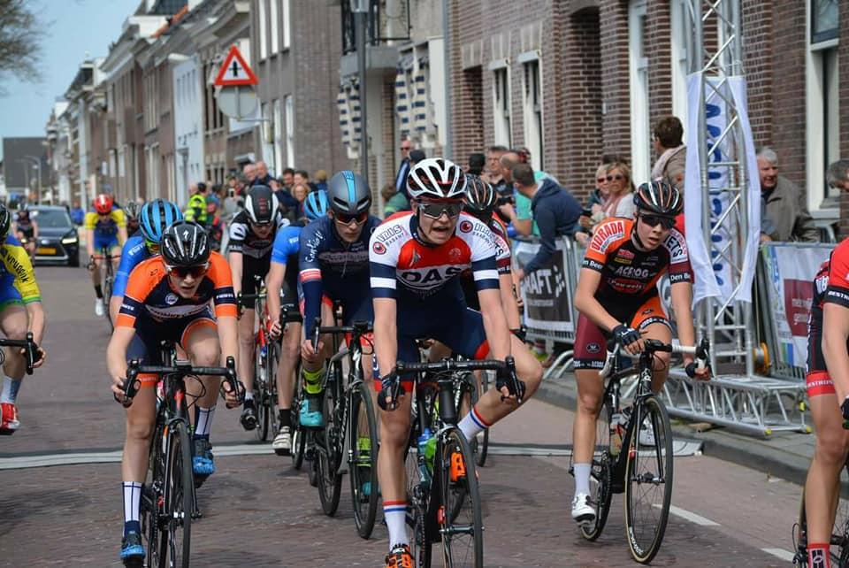 Omloop van Noord West Overijssel 2018 2 Eindsprint Roan Konings