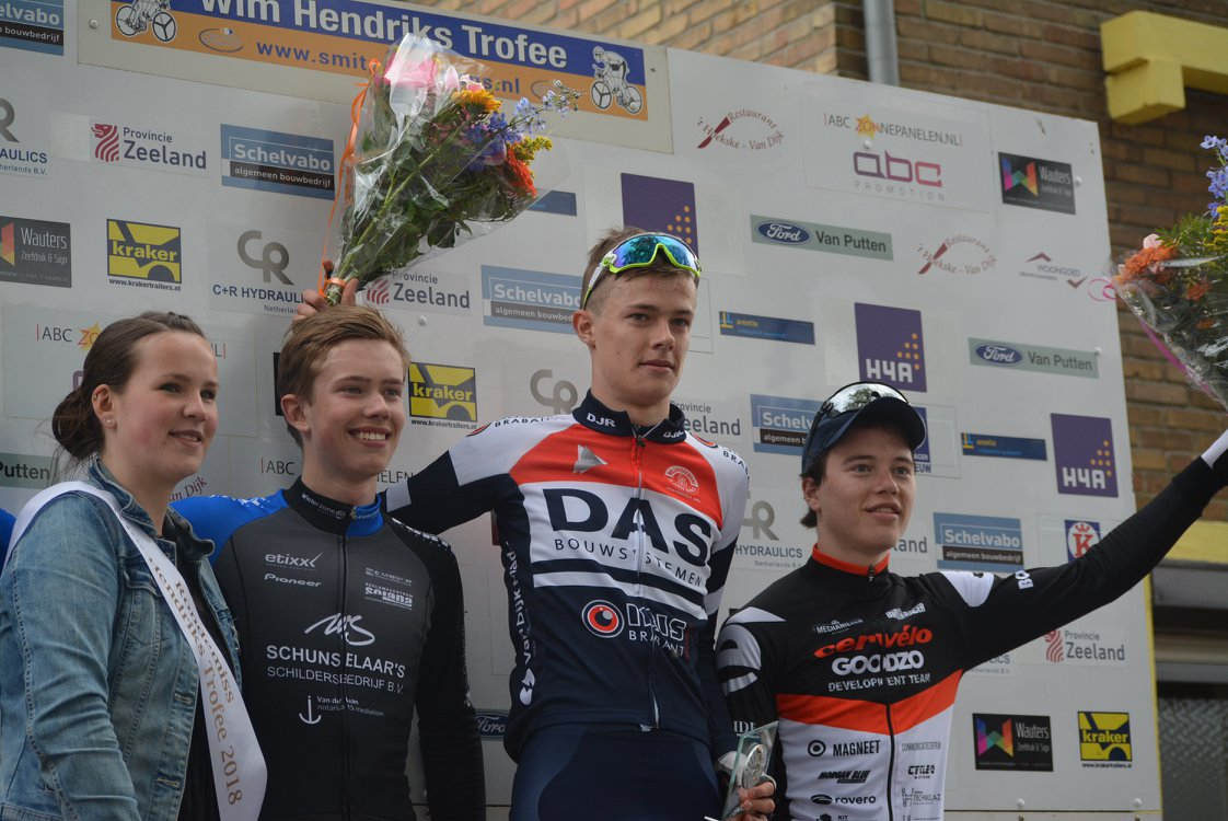 Wim Hendriks Trofee 28 april 2018 4 Mathijs de Kok podium