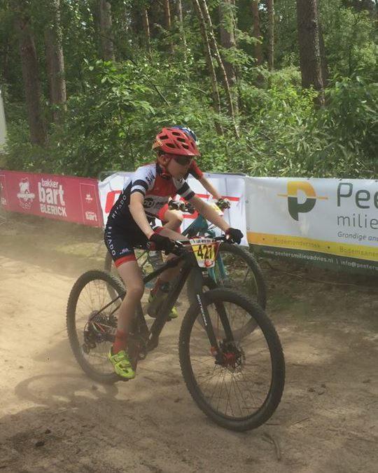 MTB-jeugd in Landelijke jeugd competitie in Beesel