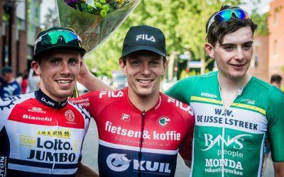 Martijn Dijkstra tweede in Omloop van de Hoeksche Waard