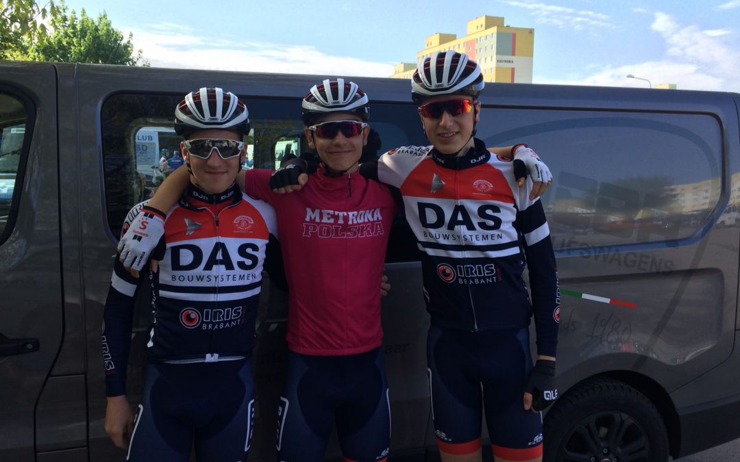 Sterke teamprestatie van onze junioren in Polen