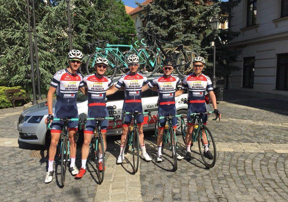 Loodzware Carpathian Couriers Race 2018 zit erop