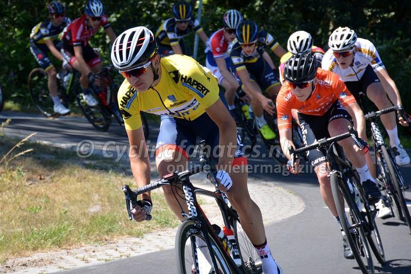 Hidde van Veenendaal 3e rit Acht van Bladel 2018 Foto Cyclingfanatics