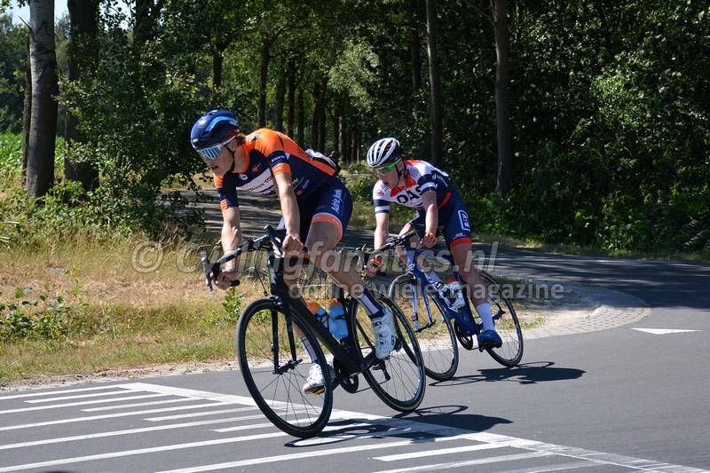Ryan Kamp aanval Acht van Bladel 2018 Foto Cyclingfanatics