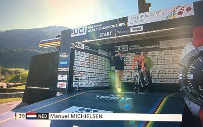 Manuel Michielsen 6e WK Tijdrijden junioren