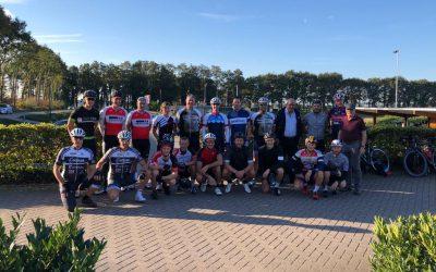Geslaagde sponsorfietstocht door West-Brabant