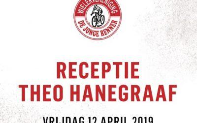 12 april: Afscheidsreceptie Theo Hanegraaf!