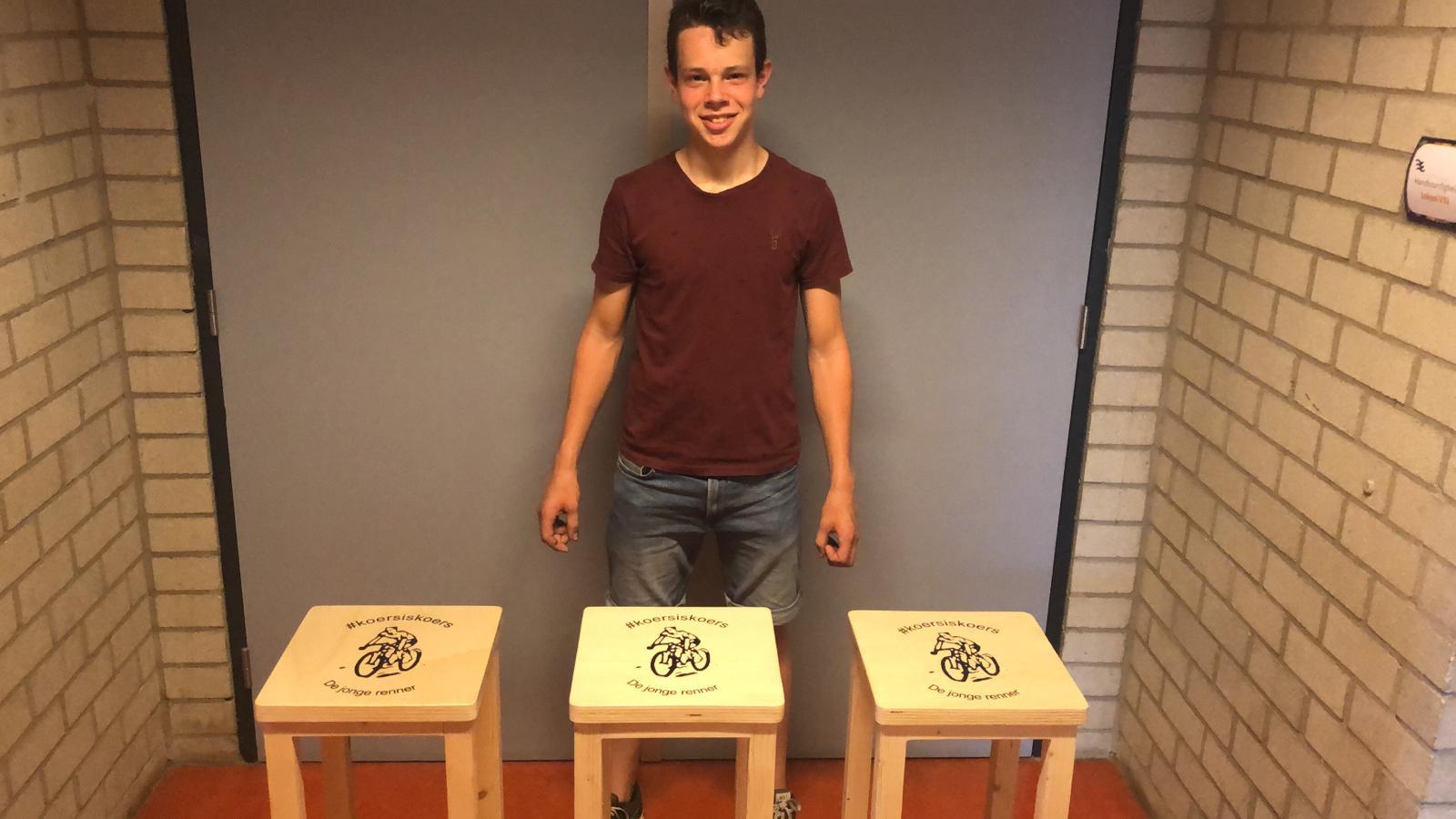 Barkrukken clubhuis De Jonge Renner Bart Rutten 7