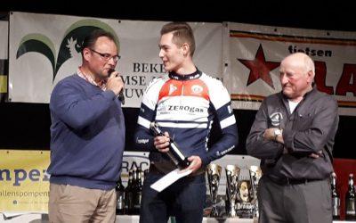 """Sven Mulder 4e in regelmatigheidscriterium """"Beker der Vlaamse Ardennen"""""""