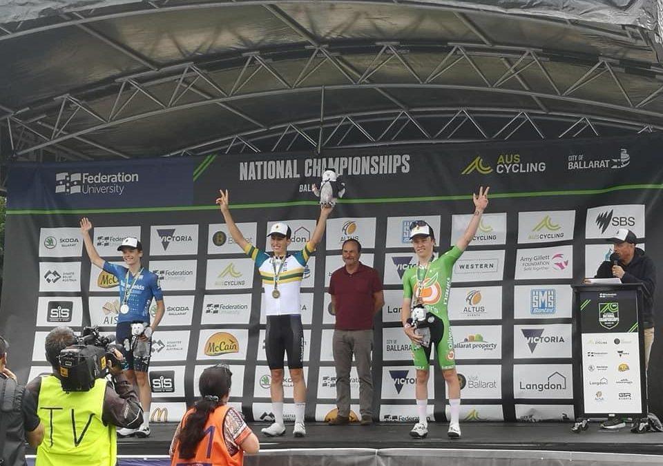 Aiden Sinclair wordt 3e op Australisch kampioenschap